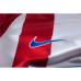 2016/17 Atletico Madrid Blank Red/White Stripes Home Replica Jersey - 16/17 La Liga Soccer Shirt