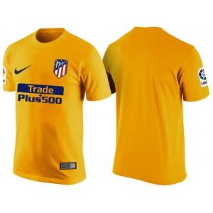 Atletico Madrid Yellow Club T-Shirt