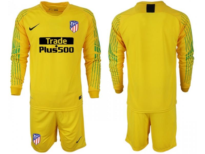 info for 9b1bd 873b3 Sleeves Long 2018 Jersey 19 Shirt Madrid Yellow Goalkeeper ...