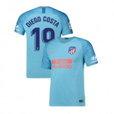 Youth 2018/19 Atletico Madrid Replica Away #19 Diego Costa Jersey