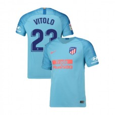 Youth 2018/19 Atletico Madrid Authentic Away #23 Vitolo Jersey