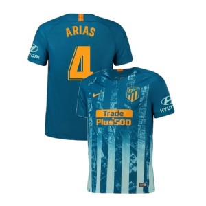 Youth 2018/19 Atletico Madrid Authentic Third #4 Santiago Arias Jersey