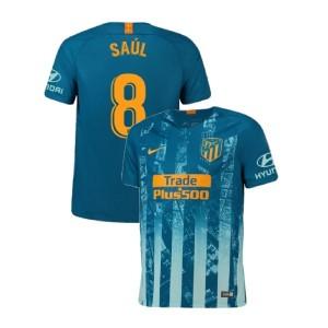 2018/19 Atletico Madrid Authentic Third #8 Saul Niguez Jersey