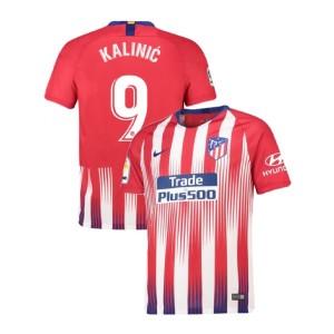Youth 2018/19 Atletico Madrid Authentic Home #9 Nikola Kalinic Jersey