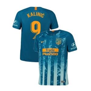 Youth 2018/19 Atletico Madrid Authentic Third #9 Nikola Kalinic Jersey