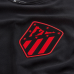 2019-20 Atletico Madrid #00 Custom Black Away Authentic Jersey