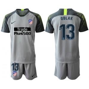2019/20 Atletico Madrid #13 Oblak Gray Goalkeeper Jersey