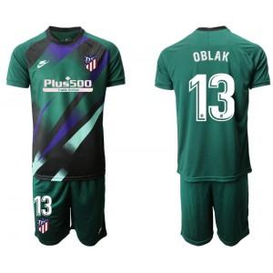2019/20 Atletico Madrid #13 Oblak Dark Green Goalkeeper Jersey