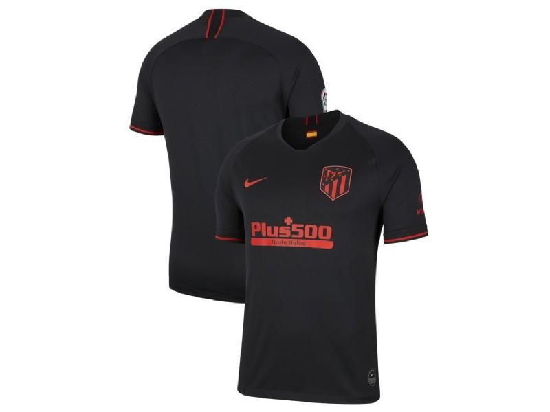 Atletico Madrid 2019/20 Away Black Replica Jersey