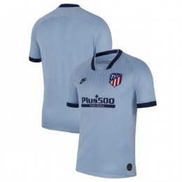 Youth 2019-20 Atletico Madrid Third Light Blue Replica Jersey