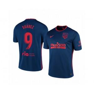 Women's 2020/21 Atletico Madrid Luis Suarez Authentic Navy Away Jersey