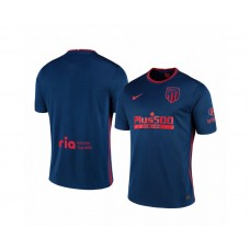 2020/21 Atletico Madrid Authentic Navy Away Jersey