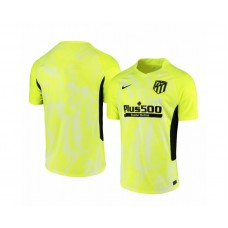 2020/21 Atletico Madrid Replica Neon Yellow Third Jersey