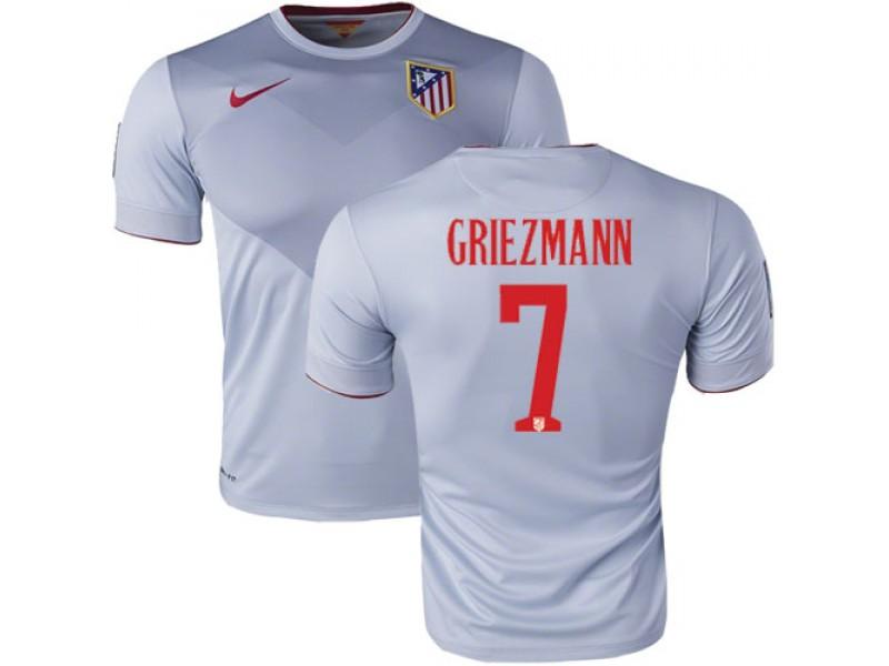 7 Antoine Griezmann Grey Away Replica Soccer Jersey 15 16 Spain Atletico  Madrid Futbol d88e65505